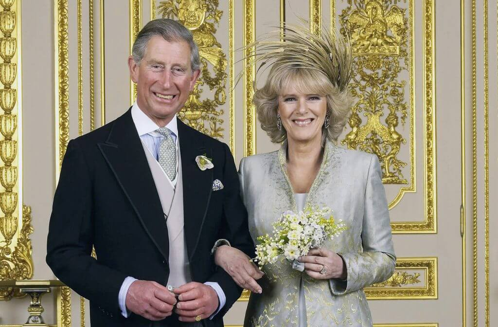 TRH Prince of Wales & The Duchess Of Cornwall - Official Wedding Photo